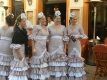Ballerine flamenco