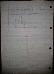 Traperas lettera 2