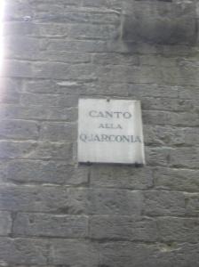 Via del Canto alla Quarconia