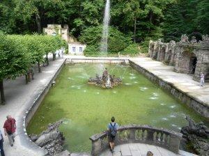 Quale momento migliore di arrivare all'Eremitage di Bayreuth, se non per i giochi d'acqua?