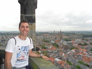 Lo skyline olandese da una torre: la pianura più piatta che c'è!
