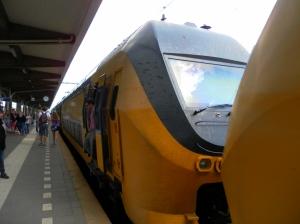 Stai salendo su un treno giallo? Sei in Olanda!