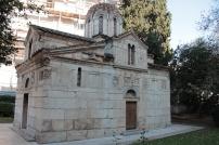 L'antica cattedrale di Atene