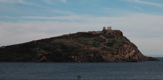 Il tempio di Poseidone su Capo Sounio