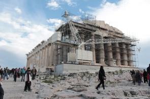 Aggiustando il Partenone