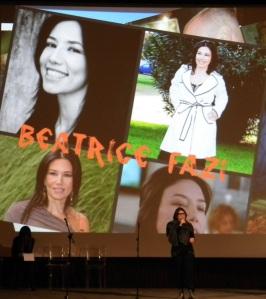 Beatrice Fazi alla Giornata per la Vita (Cinema Odeon - Firenze - 31/01/2015)