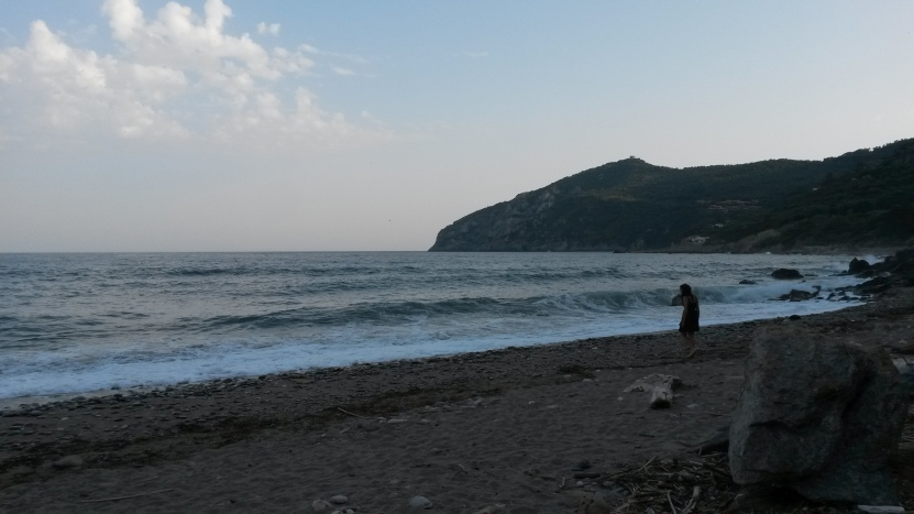 """Promontorio del Monte Argentario. Spiaggia """"Acqua Dolce"""""""