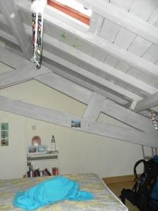 Dormire in una soffitta basca...