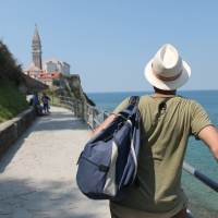 An adventure on two rails. Step 2: Piran, Izola and Koper (Slovenia)