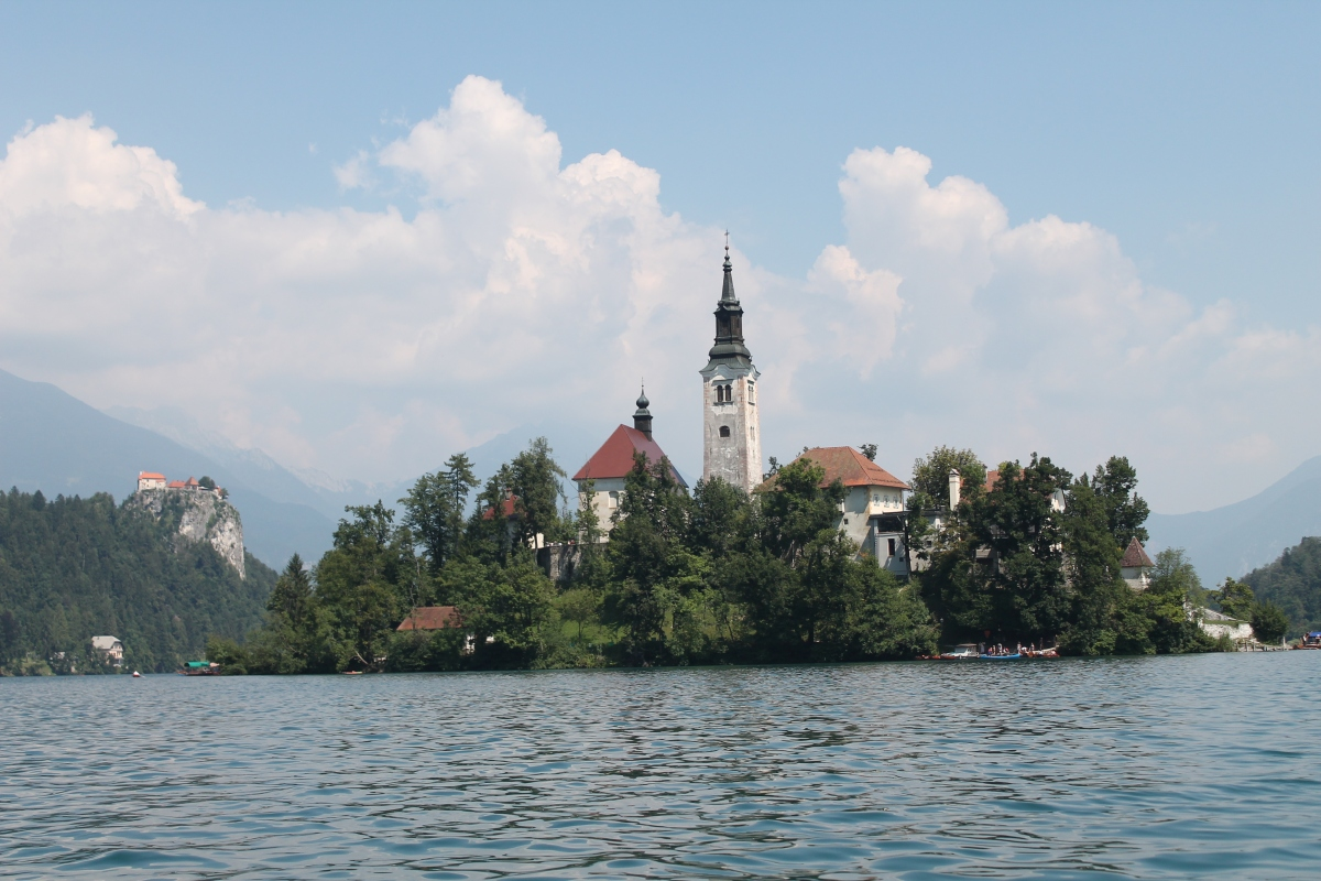 An adventure on two rails. Step 3: Bled lake (Slovenia)