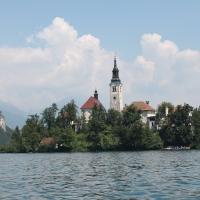 Un'avventura su due binari. Tappa 3: Lago Bled (Slovenia)