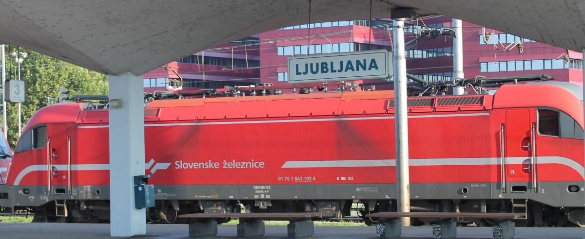 Un'avventura su due binari. Tappa 4: Lubiana (Slovenia)