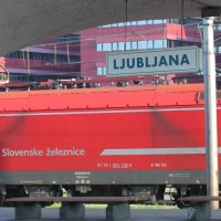 An adventure on two rails. Step 4: Ljubljana (Slovenia)