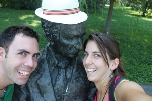 Noi e l uomo del parco