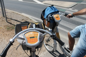 bici bike sharing Monpellier