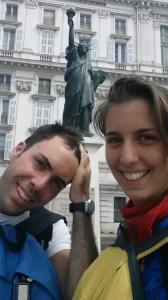 """La """"stanchezza soddisfatta"""" nella tappa a Nizza lungo la strada del ritorno"""