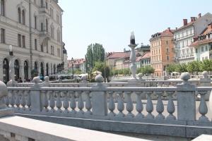Il Triplice ponte, dal ponte centrale