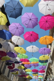 Ombrelli ad Arles