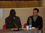 """Sekou racconta la sua storia durante la prima serata del progetto """"DiversaMente"""" a Campi Bisenzio - 25/10/2015"""