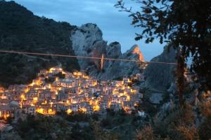 Castelmezzano notte